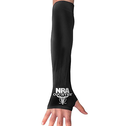 FFSSHHNM Nra Country Arm Sleeves Sunblock Sleeves UV Protection Arm Sleeves For Men Women (Country Hoody)