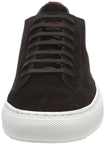 HUGO Women's Greenwich Cut-s Low-Top Sneakers Black (Black 001) buy cheap find great vfjelLu
