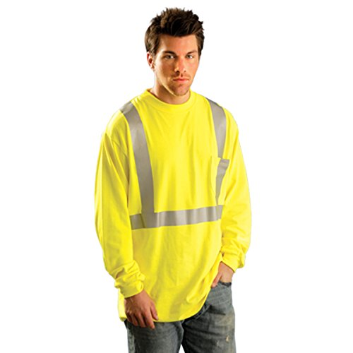 Occunomix Occlux Ansi Long Slev T Flame Resistant XL Yellow by OccuNomix (Image #1)