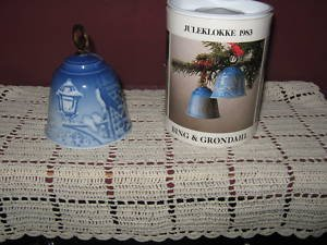 1983 Bing and Grondahl Christmas Bell --