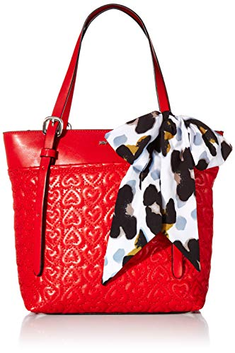 Betsey Johnson In Stitches Shopper, Red (Betsey Johnson Handbags Red)