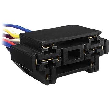 41X0druh69L._SY355_ amazon com 12 vdc bosch type dual relay socket for door lock unlock