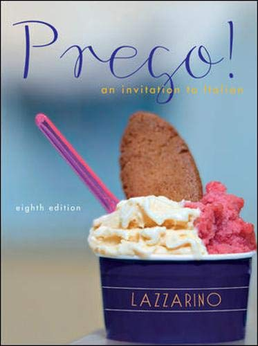 Prego! An Invitation to Italian, 8th Edition