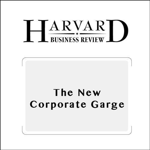 The New Corporate Garage (Harvard Business Review)