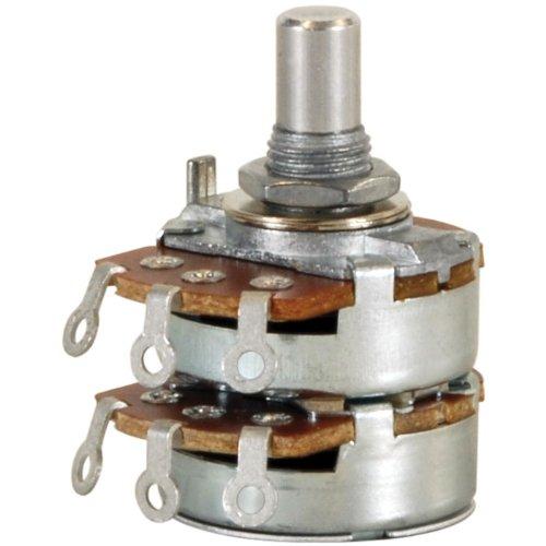 Audio Taper Stereo Potentiometer - 1K Audio Taper Stereo Potentiometer 1/4