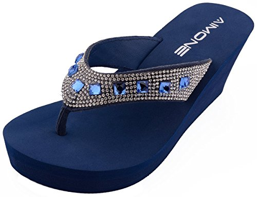Bling Sandals Flip Flops - 8