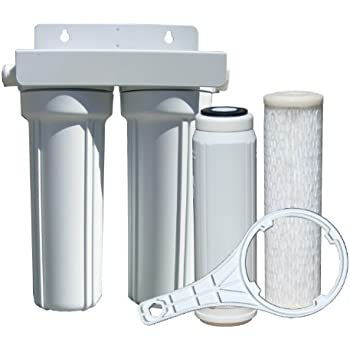 Watts 520022 Rv Boat Duo Exterior Water Filter With Garden Hose Fittings Automotive