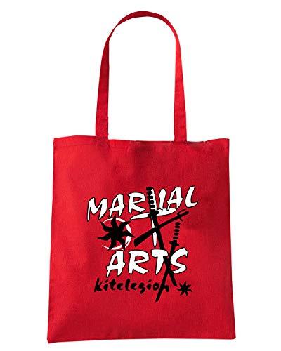 Speed Shirt Borsa Shopper Rossa TBOXE0108 KITELEGION VEC COMBAT MARTIAL ARTS