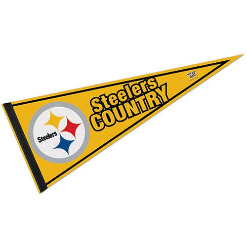 Pittsburgh Steelers Steelers Country Pennant - Steelers Pittsburgh Pennant