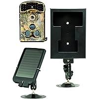 Ltl Acorn 2G Digital Trail Camera Low Glow 14MP HD Wireless Security Camera + Solar Panel Charger + Security Box