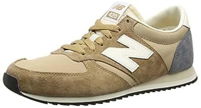 New Balance U420V1, Zapatillas para Hombre, Beige (Beige/White/Grey), 40 EU