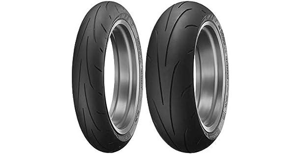 Amazon.com: Dunlop Q3+ Sportmax - Juego de llantas para ...