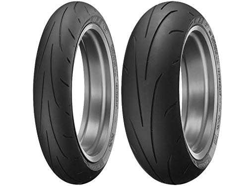 Dunlop Q3+ Sportmax Motorcycle Sportbike Tires Multiple Sizes Combo Set