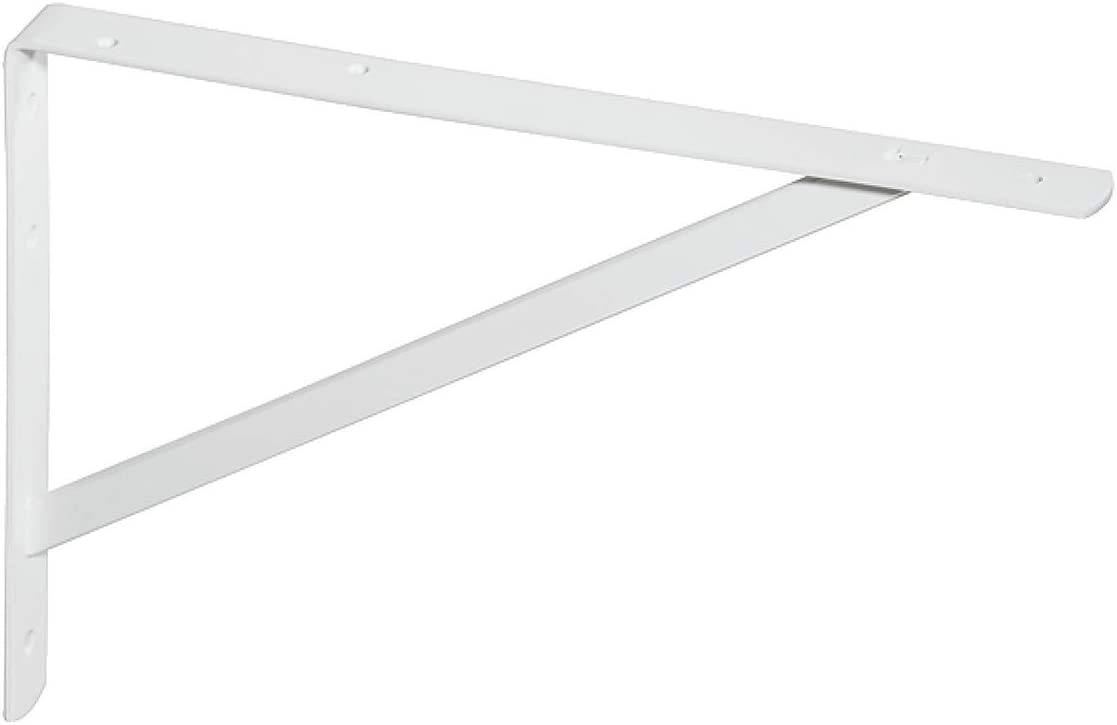 Stahl silber RAL9006 De madera maciza de acero 3 coloures Capacidad de carga 200-300 kg 3 tama/ños 295 x 210 x 30 mm Made IN Germany Estanter/ía de soporte de carga pesada de tirantes GedoTec de carga pesada y consolas de Athena