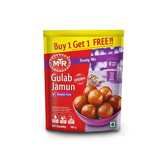MTR Gulab Jamun Mix, 160g (Buy 1 & Get 1 Free)