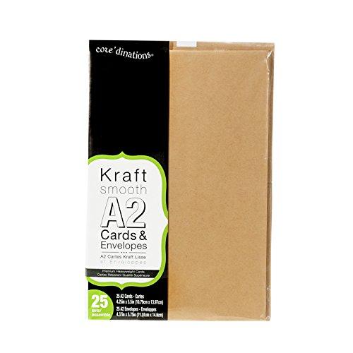 Darice Heavyweight Kraft Cards Envelopes