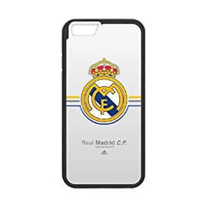 iPhone 6 Plus 5.5 Inch Phone Case Black Real Madrid F5115283
