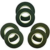 6 Rolls Floral Tape Stem - HYHP Wrap Tape in 3 Colors