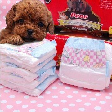 dono perro mascota pañales pañales pantalones fisiológicos pañales para perros gato
