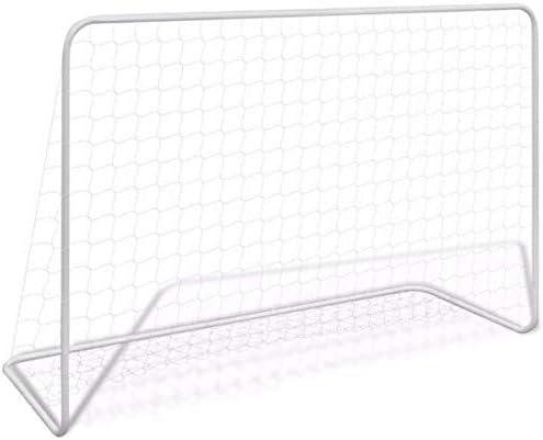 COIL Cage de Football en Acier tr/ès Robuste pour Enfant 182 x 122 x 61 cm