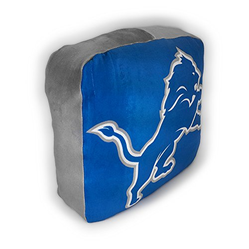 The Northwest Company NFL Detroit Lions Cloud Logo Pillow, One Size, Multicolor