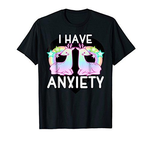 Kawaii pastel goth shirt I have anxiety Cute tshirt