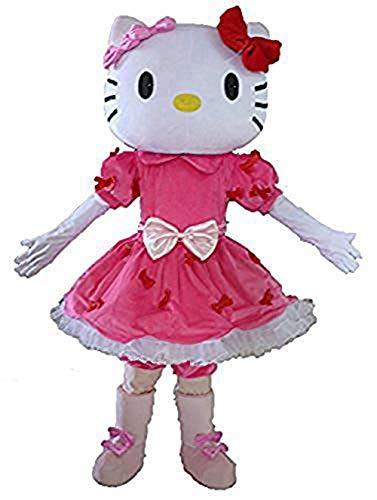 Hello Kitty Mascot Costume Cartoon Character Mascot Costumes for Birthday -