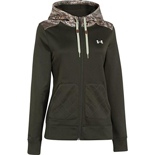 Under Armour Women`s ColdGear InFrared Caliber Full Zip Hood