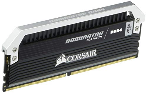 Corsair Dominator Platinum 16GB (2x8GB) DDR4 2666MHz C15 Desktop Memory