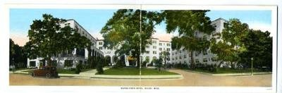 Buena Vista Hotel Panorama Postcard Biloxi Mississippi (Mississippi Postcard)