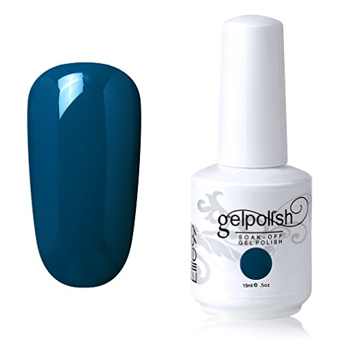 Elite99 Soak-off Gel Polish Lacquer Nail Art UV LED Manicure Varnish 15ml DeepSkyBlue 1439