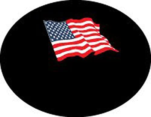 TV - dish - Satellite dish cover - USA FLAG on the universal black for round or elliptical dish - the DISH hoodie