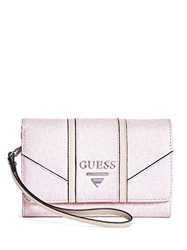 62989a8253d4f Guess Satchel Purse And Matching Wallet Ostrich Guess satchel purse