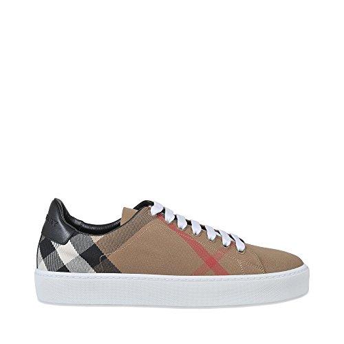 Burberry Damen Sneaker Beige Klassieke Check