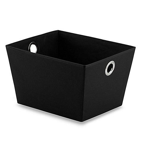 Bag Tote Grommet (Affordable Studio 3b Heavyweight Large Grommet Tote in Black - 13.25