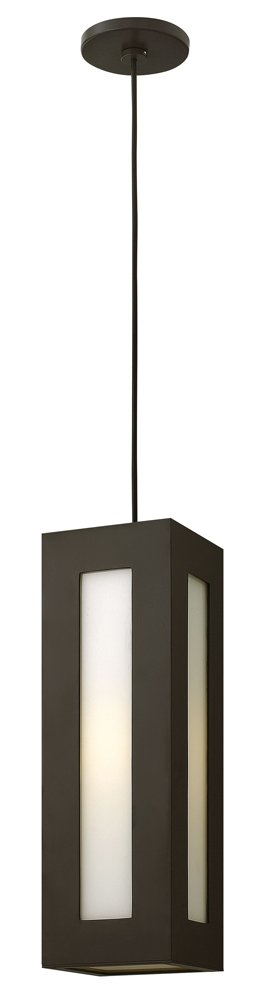 Dorian Outdoor Hanging Lantern Finish: Bronze, Bulb type: 26W Max GU24