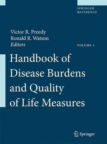Handbook of Disease Burdens and Quality of Life