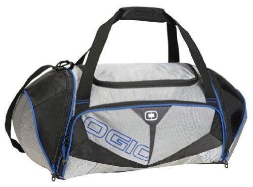 OGIO Endurance 3.0 Fitness Athlete Bag (Black/Blue,Medium)