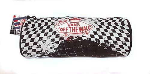 Vans off the Wall Checkered Pencil Case - Estuche para lápices, diseño de Cuadros Negros: Amazon.es: Oficina y papelería