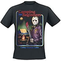 Friday the 13th Camping for Beginners T-Shirt Black 26