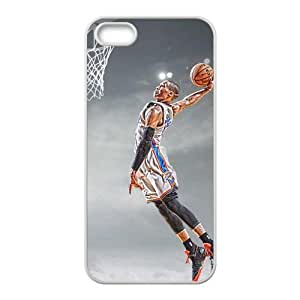 Diy Case for iPhone 5,5S ,Russell Westbrook Customized case Fashion Style UN873355