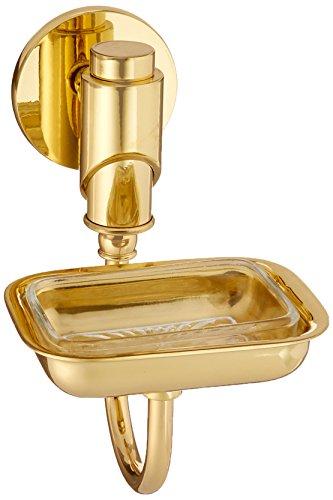 Allied Brass Polished Soap Dish - Allied Brass TR-32L-PB Lucite Soap Dish, Polished Brass