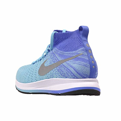 8087eaa51f740 Nike Youth Zoom Pegasus All Out Flyknit 859622 400 Blue (7y ...