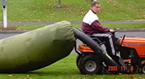 Lawn Tractor Leaf Bag- Never Rake Again from LIG, LLC