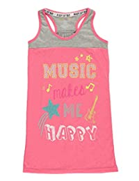 "PJ Licious Big Girls' ""Music Makes Me Happy"" Nightgown"