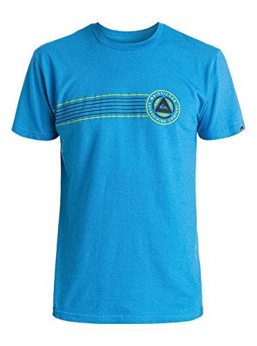 ck The Surf T-Shirt, Daphne, Large (Quiksilver Mens Surf Check)