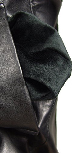 Nettailor 2039 Fine Leather Pea Coat Fashion for Men Large Size All Size by NETTAILOR (Image #3)