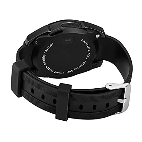 No. 1 G5 Smart reloj - Monitor de ritmo cardíaco, Bluetooth 4.0 ...