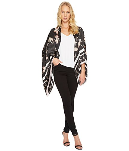 Ted Baker London Women's Queen Bee Cape, Black, One Size by Ted Baker