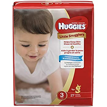 Amazon Com Huggies Little Snugglers Baby Diapers Size 3